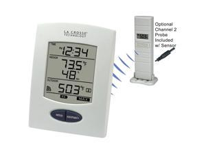 WS-9029U-IT-CBP - Digital Wireless Weather Station in White Finish