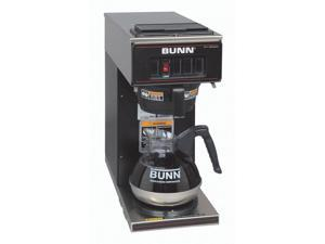 Pourover Coffee Brewer in Black w Warmer