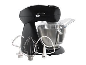 Eclectics Stand Mixer in Black Licorice
