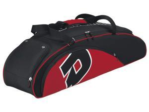 Demarini Vendetta Bag in Black and Scarlet