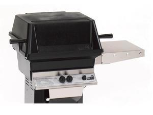 A-Series Liquid Propane Grill Head w One Shelf (Liquid Propane Port Base)