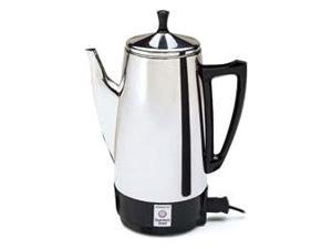 Presto 12-Cup Steel Coffee Maker