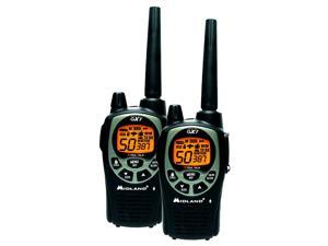 50-Channel Gmrs Radio Pair Pack w Batteries & Drop-In Charger