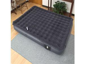 Easy Riser 11 in. Air Bed in Grey (Queen)