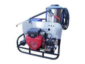 CB Series 24 HP Oil Fired Hot Water Pressure Washer