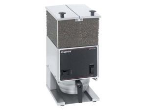 Low Profile Portion Control Coffee Grinder w 2 Hoppers