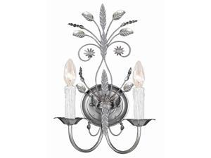 Crystorama Paris Flea Market Primrose Wall Sconce 4702-SL