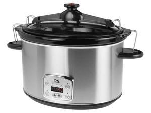 8 qt. Stainless Steel Digital Slow Cooker