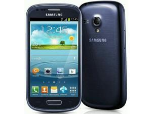 Samsung I8190 Galaxy S III mini Baby S3 Quad Band Android OS, v4.1 Jelly Bean Unlocked Phone (Blue)