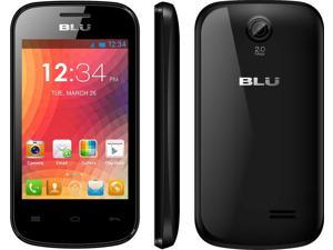 BLU Dash JR D140 Black (Unlocked) GSM Smart phone