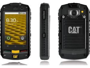 Caterpillar CAT B10 Black - (Unlocked) GSM Smartphone Single SIM