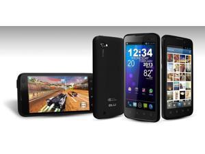 BLU Quattro 4.5 D440 Black (Unlocked) GSM Smartphone