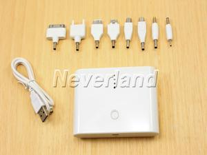 Neverland 12000mAh iphone Battery Charger USB external power