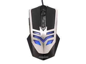 Perixx MX-1000 Iron Gaming Mouse - 7 Programmable Button, 5 User Profile, Omron Micro Switches, Avago 2000DPI A3050 Optical ...