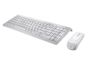 "Perixx PERIDUO-710W, Wireless Keyboard and Mouse Combo Set - Compact Size 15.32""x5.59""x0.98"" Dimension - Built-in Numeric ..."