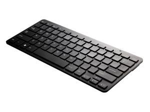 Perixx PERIBOARD-807B US Wireless Bluetooth Keyboard - Black