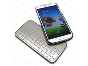 Ultra-slim Magnetic Aluminium Wireless Bluetooth Keyboard for Samsung Galaxy S4
