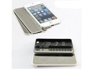 Aluminum Detachable Magnetic Bluetooth 3.0 Keyboard Case For iPhone 5 Ultra Thin
