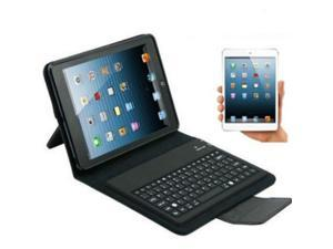 Brand New Bluetooth Keyboard PU Leather Stand Case Cover with Sleep Mode for iPad Mini