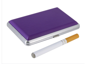 SL0178 Electronic Cigarette Kit with Leather Case (Purple)