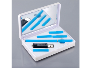 SL0049 Women's Filter Electronic Cigarette Kit (Blue)