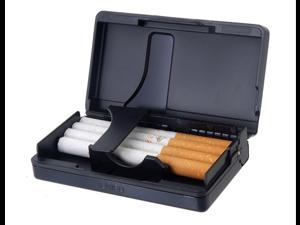 High Class Aluminum Cigarette Case (Black)