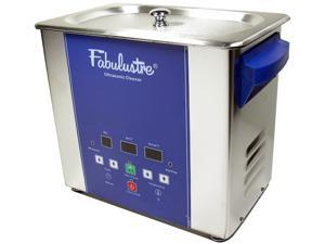 Fabulustre 3 Quart Heated Stainless Steel Ultrasonic Cleaner