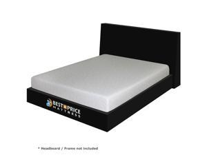 "7"" Cool Gel Memory Foam Mattress - Full - OEM"