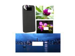 Wide Angle + Macro + Hard Case Lens Set Specific for Apple iPhone 4S 4 4G Mobile Smart Cell Phone Optical Tailor Custom Made ...