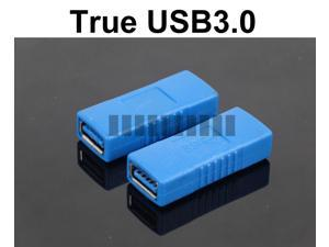 USB 3.0 Female to Female Extender Extension Adapter AF-AF Connector USB A Female to USB A Female Downward Compatible USB ... - OEM