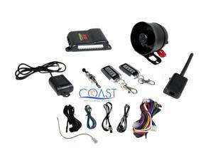 CrimeStopper SP-202: 1-Way Vehicle Security Alarm System with Keyless Entry