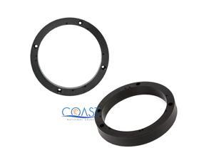 "METRA 82-4300 UNIVERSAL 1 INCH SPEAKER ADAPTER BRACKET SPACER RINGS 6"" SPKR NEW"