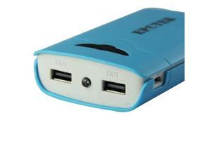 CBD 8400mah LA303 Blue USB Backup Battery Charger For Iphone IPod  ITouch