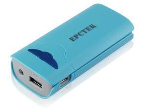 CBD 2600mah LA105 Blue Portable Supply External USB Backup Battery Charger Power Bank For Mobile Cellphone Camera Ipod Touch ...