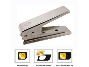 Micro Sim Card Cutter 2 Adapter For Iphone 4 4G Ipad 2