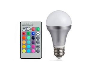 High Power Multi Color Change 3W E27 RGB LED Light Bulb Lamp Remote Control