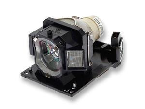 Original Projector Lamp for Hitachi CP-AW251NM with Housing, Philips / Osram Bulb Inside, 150 Days Warranty