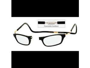 Clic Goggles Black Xxl 200 Reading Glasses Magnetically Clic