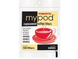 Presto 09993 My Pod Replacement Coffee Filters