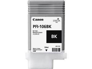 Canon Lucia EX PFI-106BK Ink Cartridge - Black - Inkjet - OEM