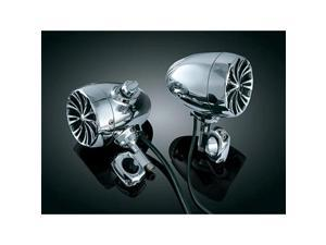 Kuryakyn Bluetooth Sound of Chrome Speaker Kit - 1 1/4in. Bars - Chrome 835