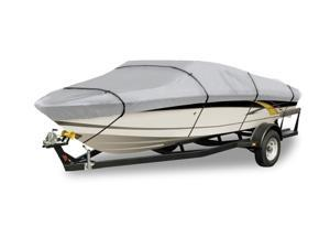 Silver Fin Boat Covers: Fits 17-ft to 19-ft (beam width 102-in)