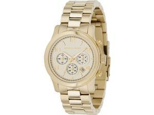 Michael Kors Women's Chronograph Gold Tone Stainless Steel