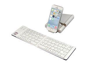 iwerkz Universal Foldable Bluetooth Keyboard (White)