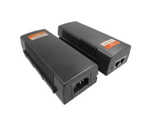 Single Port POE Injector 30W High Power Power Over Ethernet IP Based System Adapter