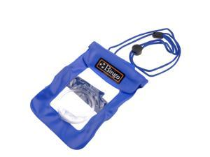 Bingo Waterproof Pouch PVC Coated Pack Bag Case Underwater for Camera DSLR Blue