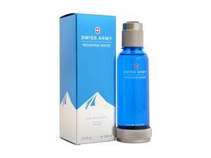 Swiss Army Mountain Water By Swiss Army For Men - 3.4 Oz Edt Spray