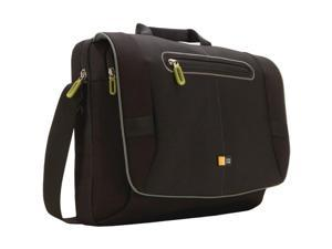 "Case Logic PNM-217Black Case Logic PNM-217 Carrying Case (Messenger) for 17.3"" Notebook, iPod - Black - Nylon - Shoulder Strap, Handle"