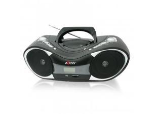 Axess Portable CD/MP3 Boombox