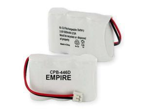 Empire Battery CPB-446D Replaces 1X3-2/3AF NCAD 600mAh/D CONNECTOR